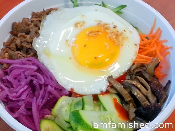 Bimbimbap Hot Pot (takeaway)