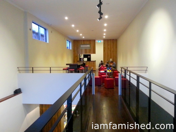 Dining area (upstairs)