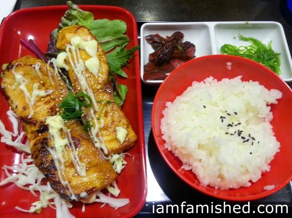 Teriyako Salmon Bento Box