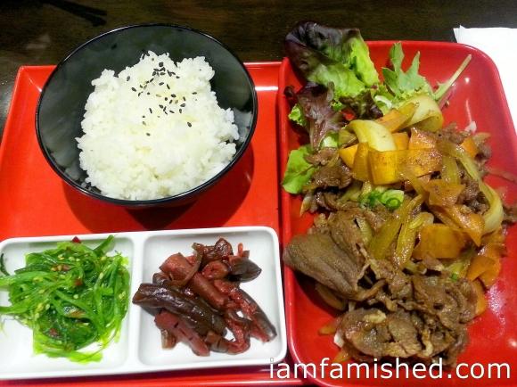 Yakiniku Beef Bento Box