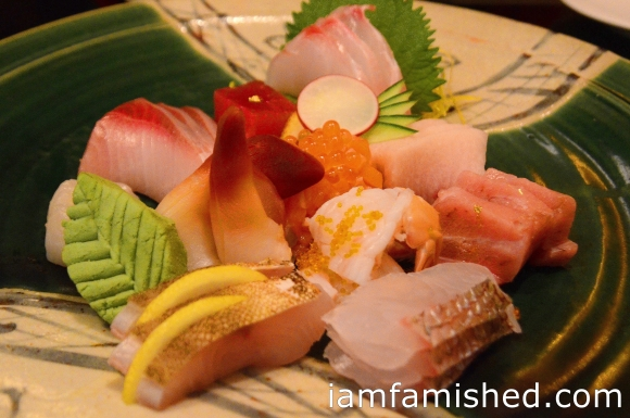 Sashimi - Special Omakase (Sashimi lover's feast - carefully selected and arranged by the chef)