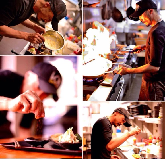 The chef (Mastermind) in action