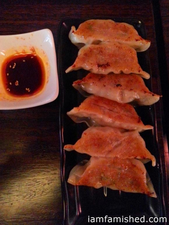 Kokoro's homemade pork Gyoza