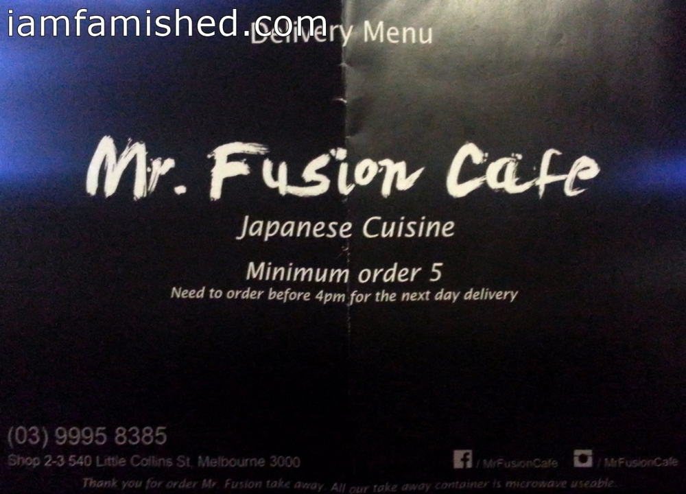 Mr. Fusion Cafe Japanese Cuisine (1/6)