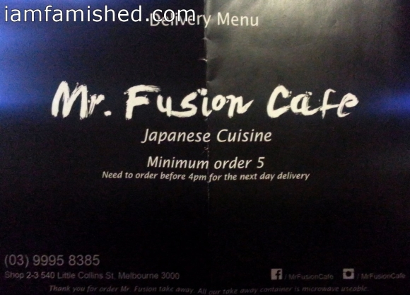 Mr. Fusion Cafe Japanese Cuisine