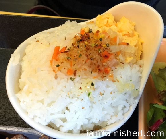 Warra Warra Style Rice (looks so pretty!)