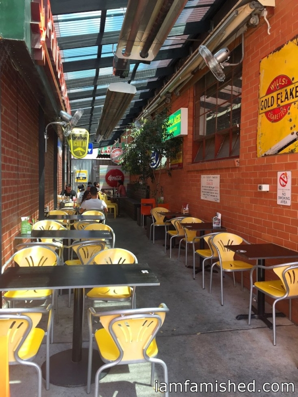 The alley way (outdoor dining 1)