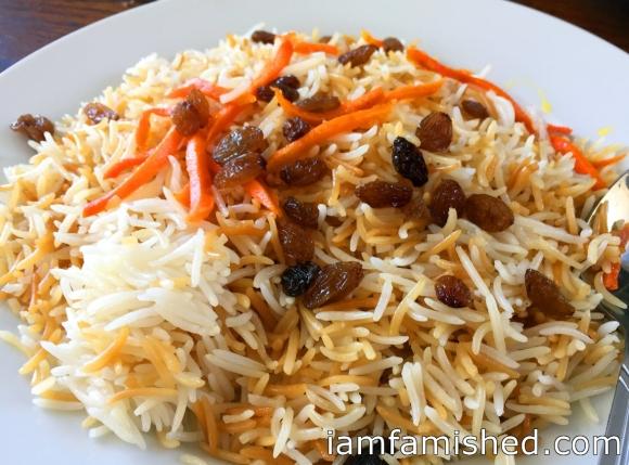 Kabuli Pallow (Afghani rice)