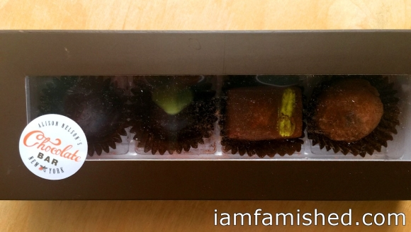 4-piece chocolate box (take away)