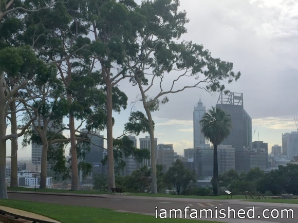Perth CBD skyline