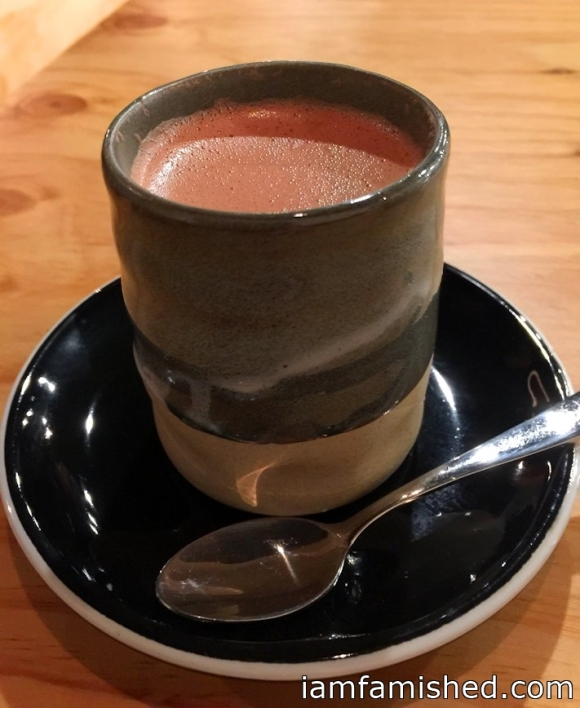 Hot chocolate - Monsieur Truffe (70% Ecuador hot chocolate with soy)