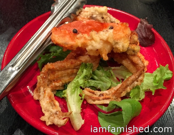 Tapas - soft shell crab