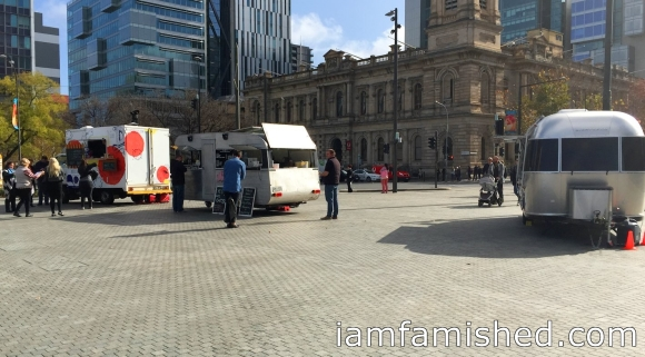 Food trucks at Victoria Square, Adelaide (2)